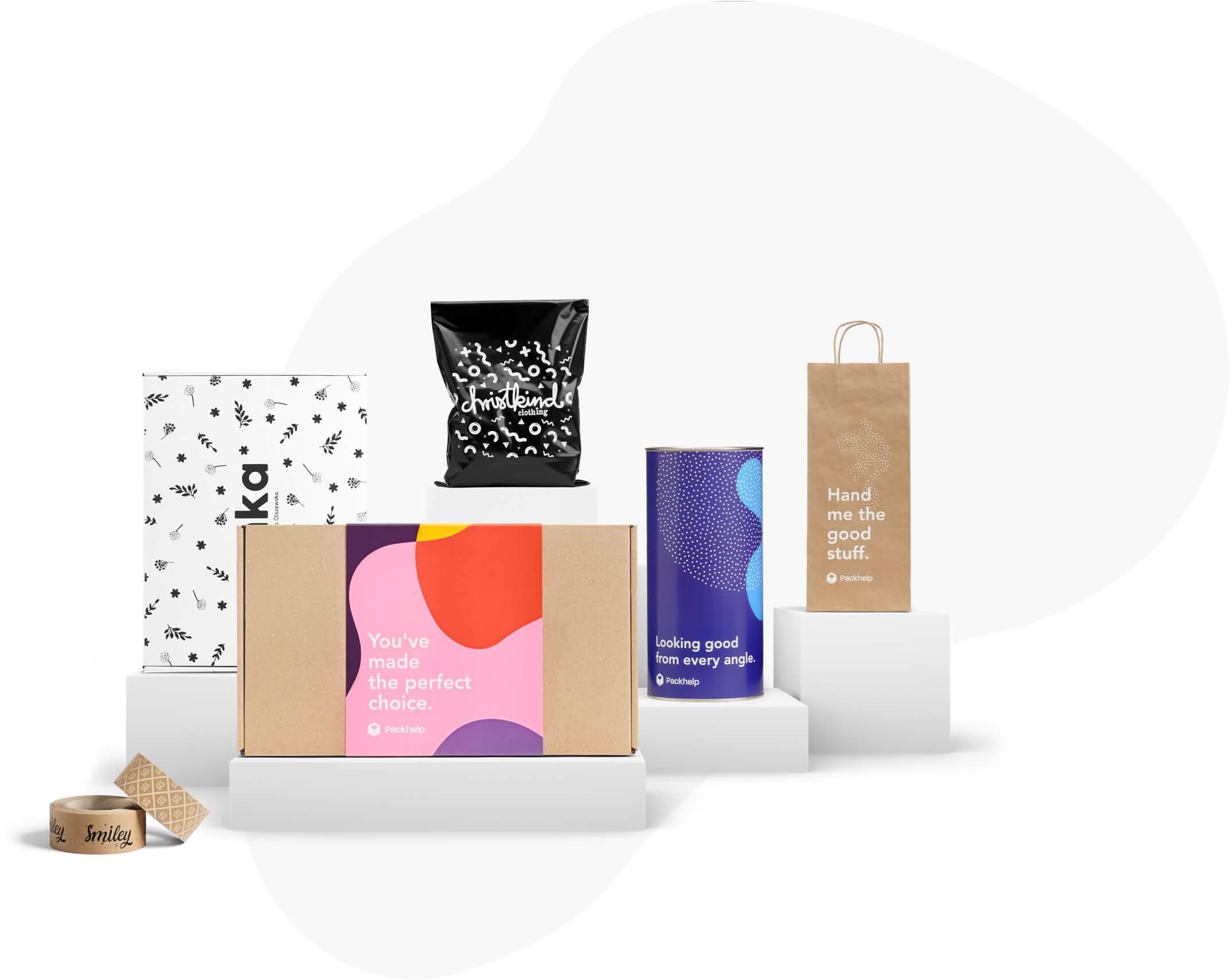 50698aeb758c Paquetería personalizada - Diseña tus propias cajas y paquetes ...