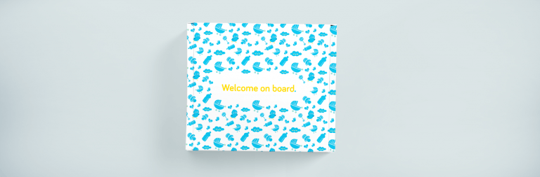 ITMAGINATION: welcome packs for children