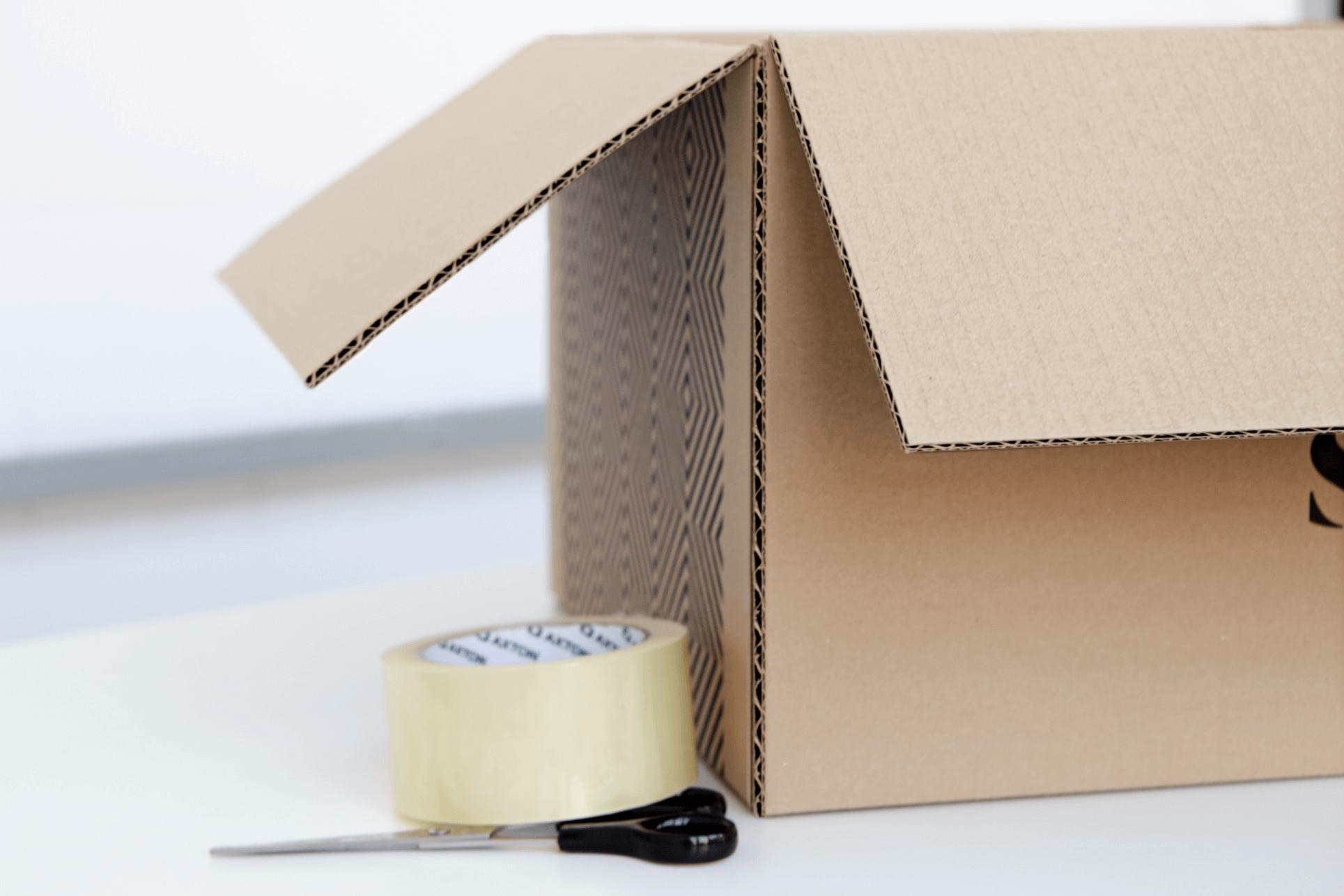 caja para envíos