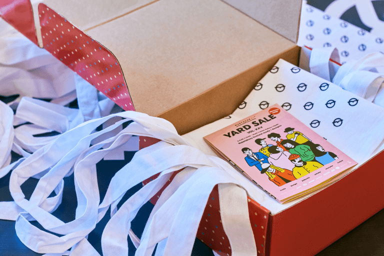 Caja para un evento