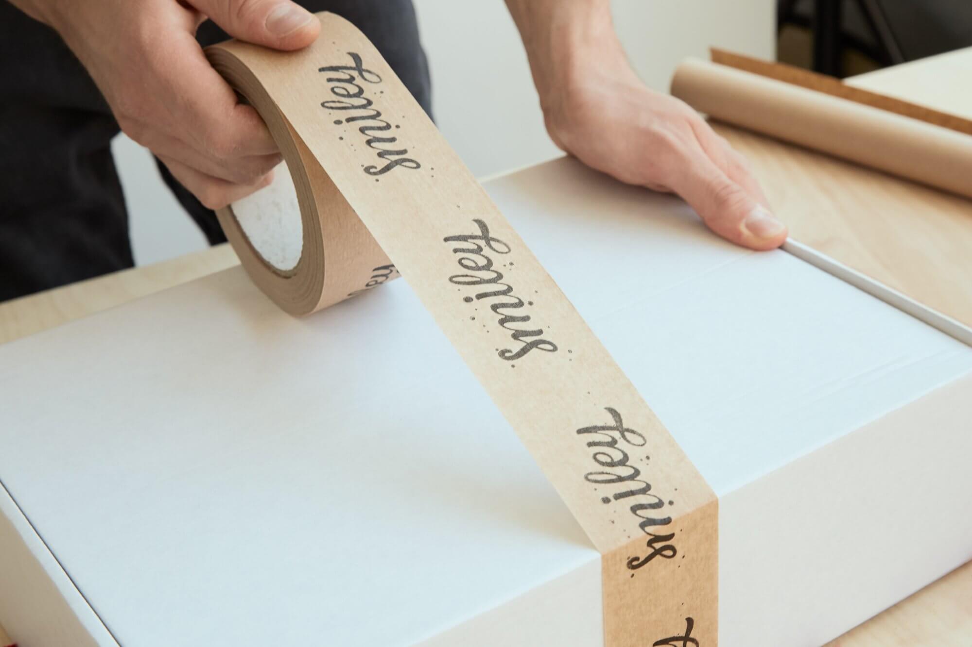 cintas de embalaje kraft - cintas adhesivas -packhelp