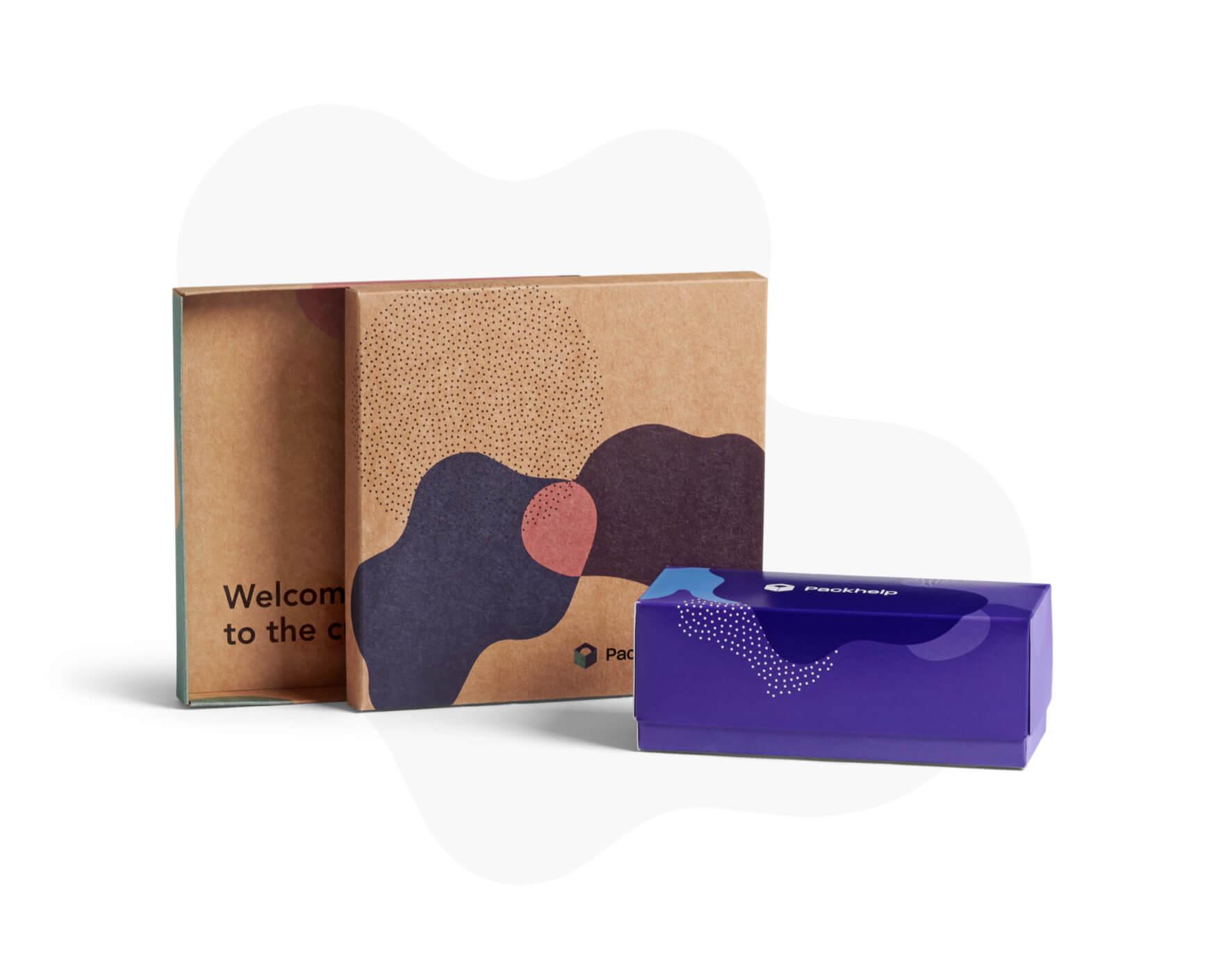 e6061f3e7fb8 Caja para productos de dos piezas con impresión interna y externa ...